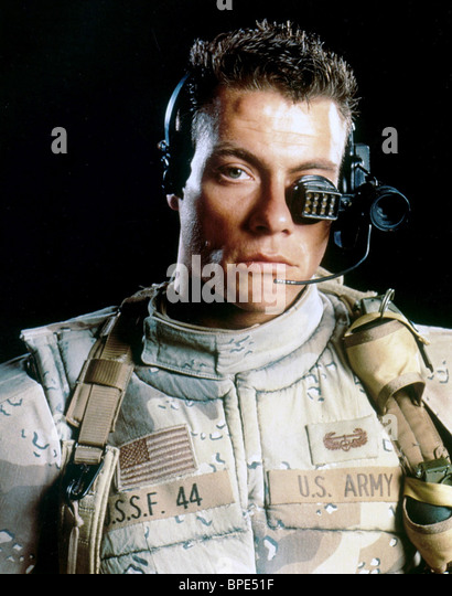 Universal Soldier 1992 Dolph Lundgren Stock Photos ...