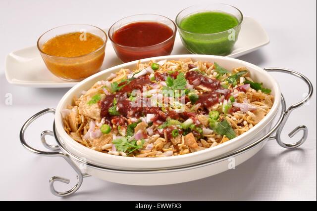 how to make bhel puri chaat