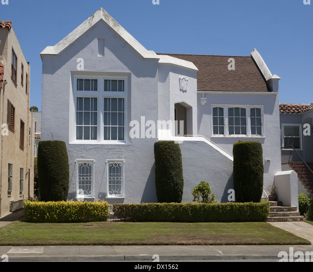 White Stucco House The Image Kid Has It