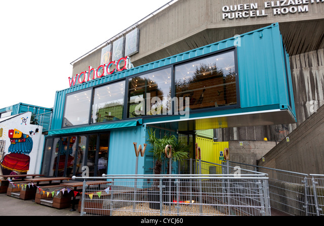 Wahaca stock photos wahaca stock images alamy - Wahaca shipping container restaurant ...
