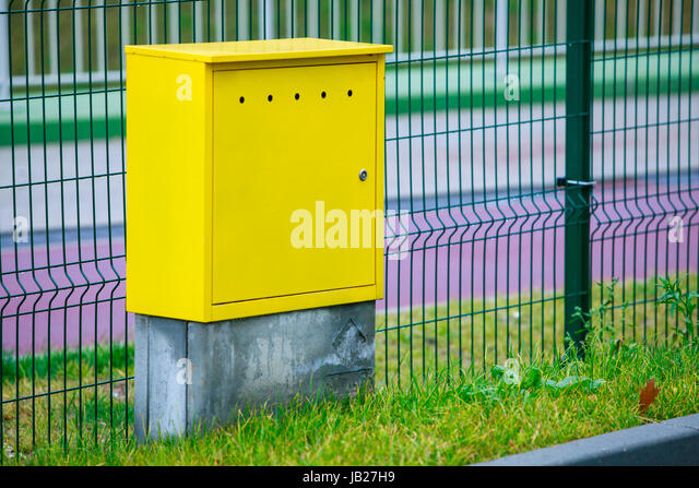 Outdoor electric equipment control industrial stock photos for Motorized outside air damper