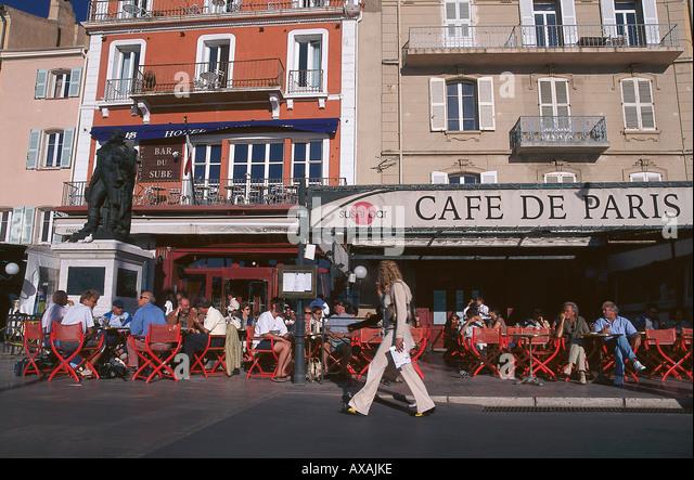 Caf Ef Bf Bd De Paris Saint Tropez
