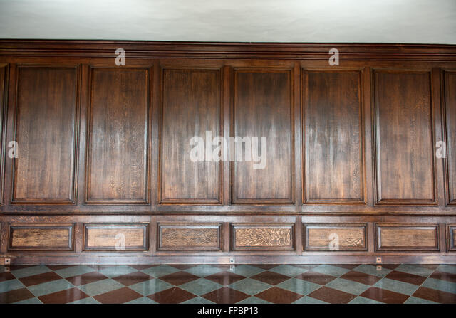 Wood panelled room old stock photos wood panelled room How to cover old wood paneling