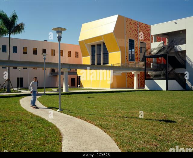 Good FIU School Of Architecture   Miami, FL   Stock Image