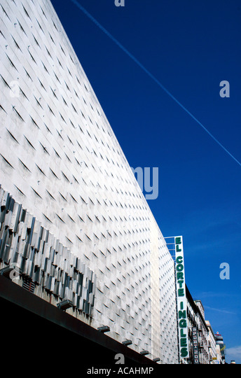 Madrid shopping department store stock photos madrid for El corte ingles madrid sol