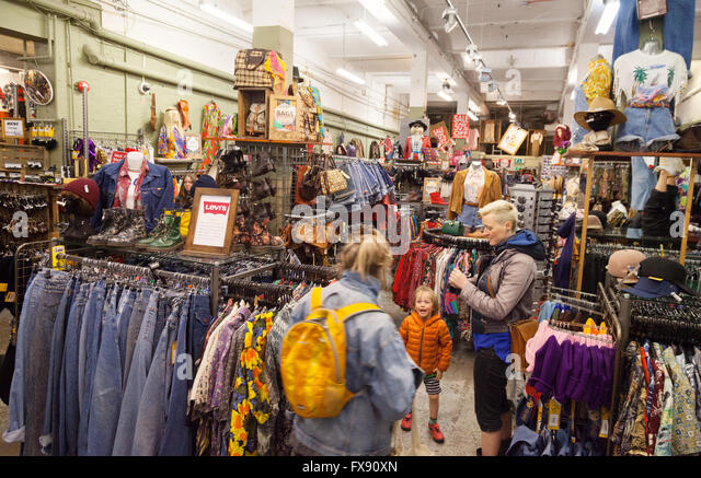 Vintage Clothes Shopping Stock Photos & Vintage Clothes Shopping ...