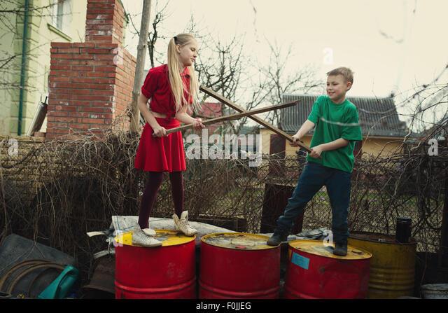 Children Playground Fight Stock Photos & Children ...