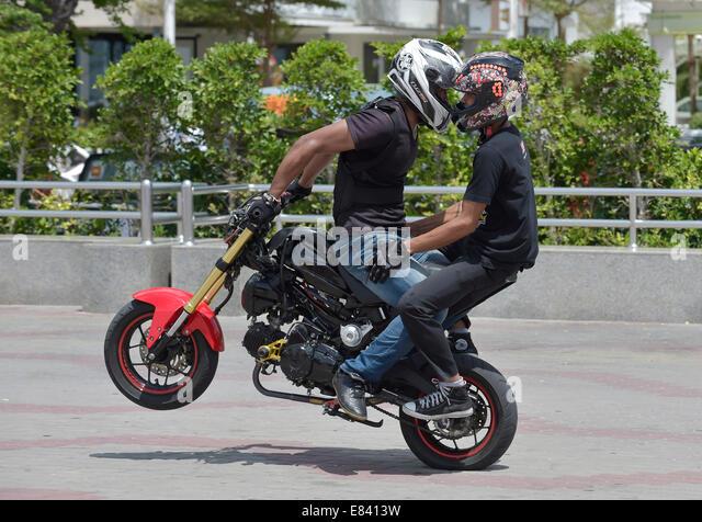 Motorcycle Stunt Rider Stock Photos Motorcycle Stunt Rider Stock