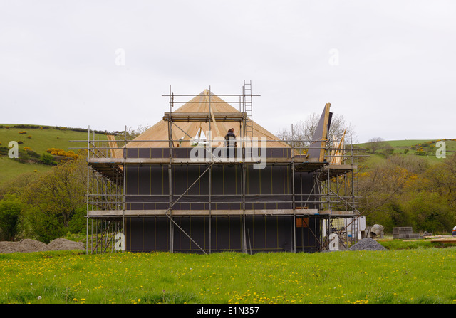 Housing construction uk stock photos housing for Affordable house construction