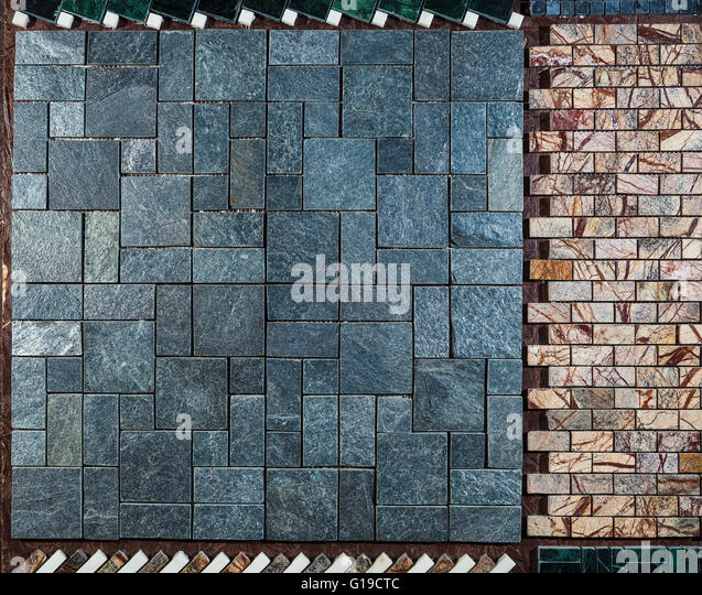 Marble Wall Or Floor Made Of Different Types Of Tiles   Stock Image Part 40