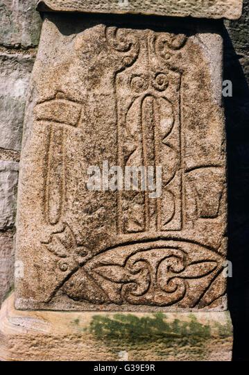 Pictish Symbol Stone Stock Photos Amp Pictish Symbol Stone