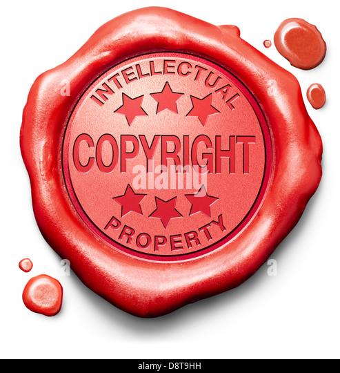 Intellectual Property Copyright: Copyright Stamp Stock Photos & Copyright Stamp Stock