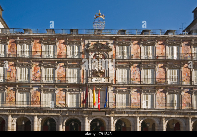 Plaza Major Madrid Stock Photos & Plaza Major Madrid Stock Images - Alamy