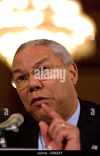 the role of colin l powell as the secretary of state Colin powell: colin powell, us general and statesman who served as chairman of the joint chiefs of staff (1989-93) and secretary of state (2001-05), the first african american to hold either position.