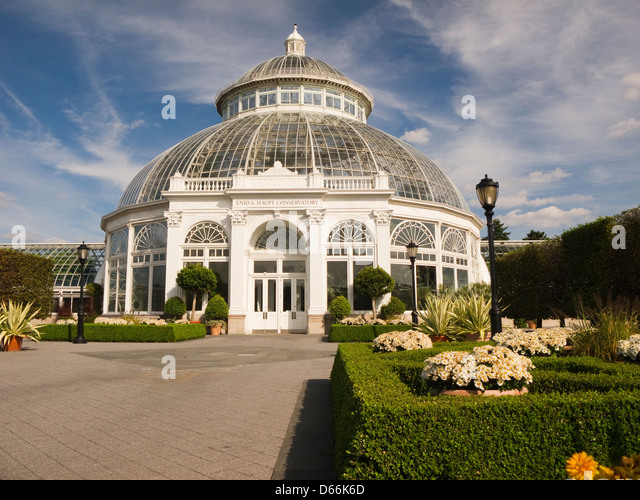 Beautiful The Enid A. Haupt Conservatory At The New York Botanical Garden In The Bronx