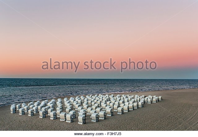 Pink Beach Chairs Stock Photos Pink Beach Chairs Stock Images