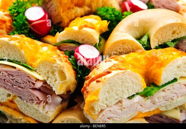 Bagel Sandwich Stock Photos & Bagel Sandwich Stock Images - Alamy