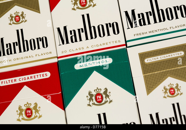 Favorite type of cigarettes Marlboro