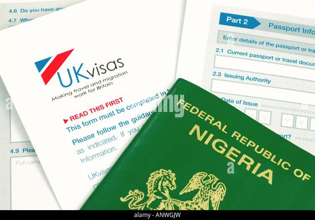 British Passport Application Form Stock Photos & British Passport ...