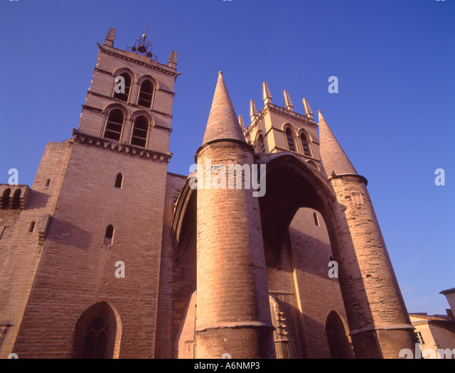 Montpellier france cathedrale st pierre stock photos montpellier france cathedrale st pierre - Cathedrale saint pierre de montpellier ...