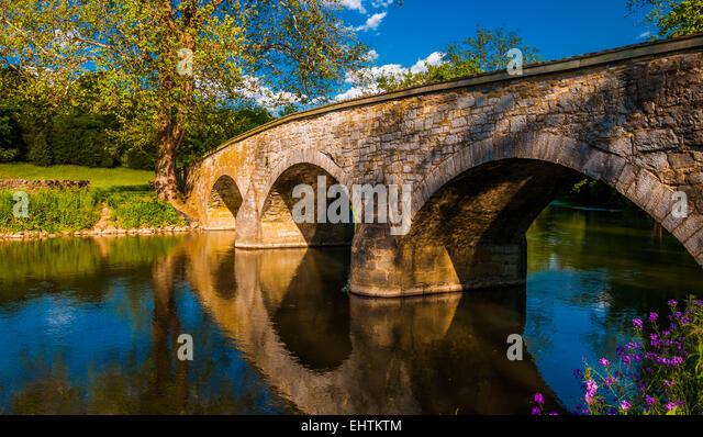 Antietam national battlefield bridge