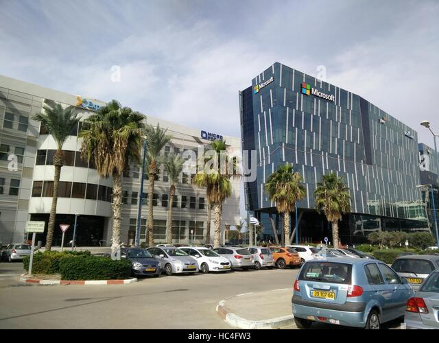 microsoft office building. contemporary building microsoft office building in haifa israel  stock image on office building r