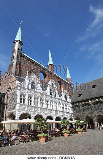 luebeck city hall stock photos luebeck city hall stock images alamy. Black Bedroom Furniture Sets. Home Design Ideas