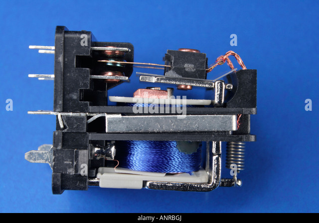 Relay Switch Stock Photos Relay Switch Stock Images Alamy - Electromagnetic relay switch