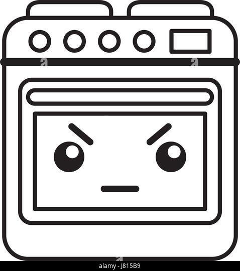 kawaii oven cartoon stock photos kawaii oven cartoon stock images
