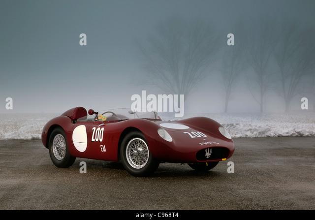 Maserati 200S 1950u0027s Sports Racing Car   Stock Image