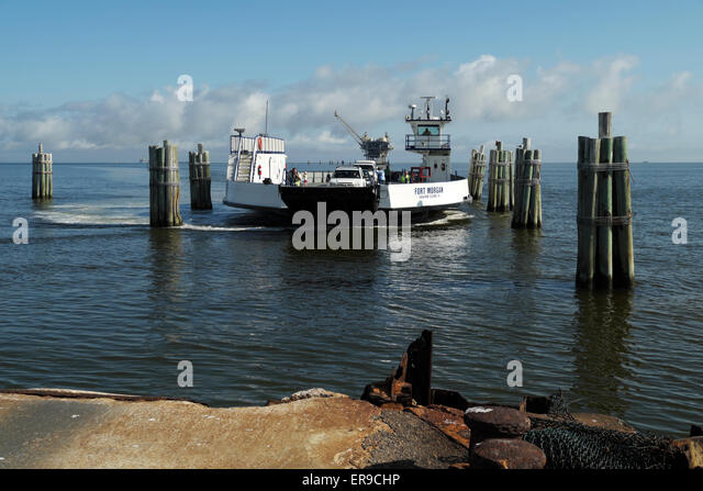 Fort morgan ferry stock photos fort morgan ferry stock for Dauphin island fishing pier
