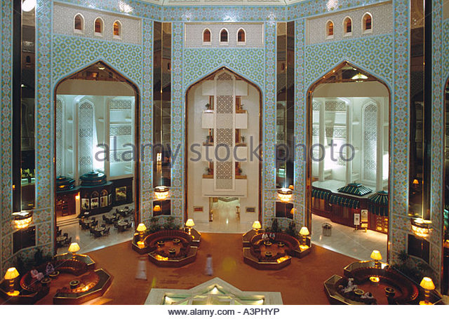 Al bustan hotel stock photos al bustan hotel stock for Hotel luxury oman