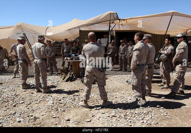 Marines Afghanistan 1st Platoon Stock Photos & Marines Afghanistan ...