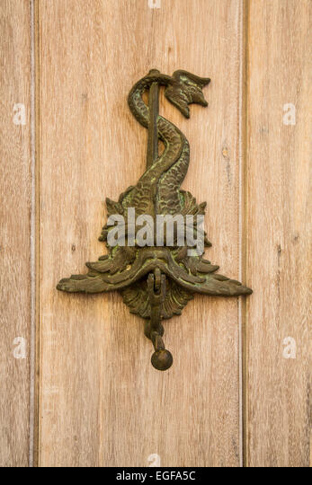 Ornate Door Knockers And Detail On Th Famous Doors Of Cartagenau0027s Historic  Old City.