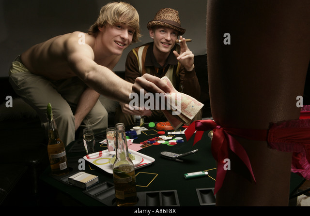 Gangster Strip Poker
