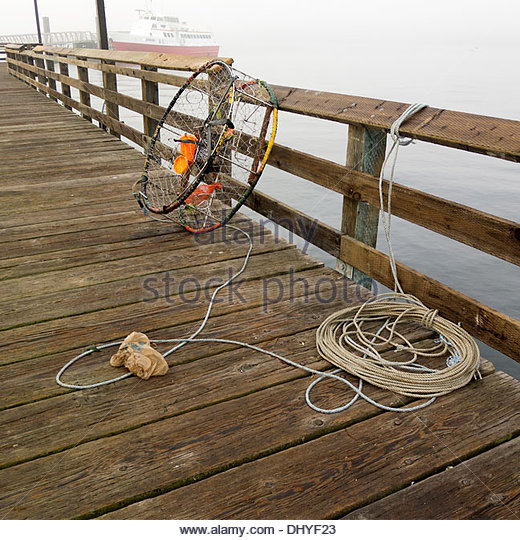 Crab fishing gear stock photos crab fishing gear stock for Commercial fishing supplies