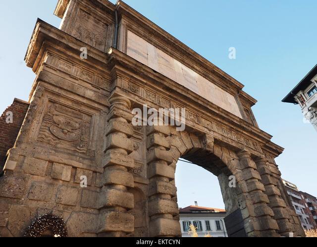 Porta Romana Stock Photos Porta Romana Stock Images Alamy
