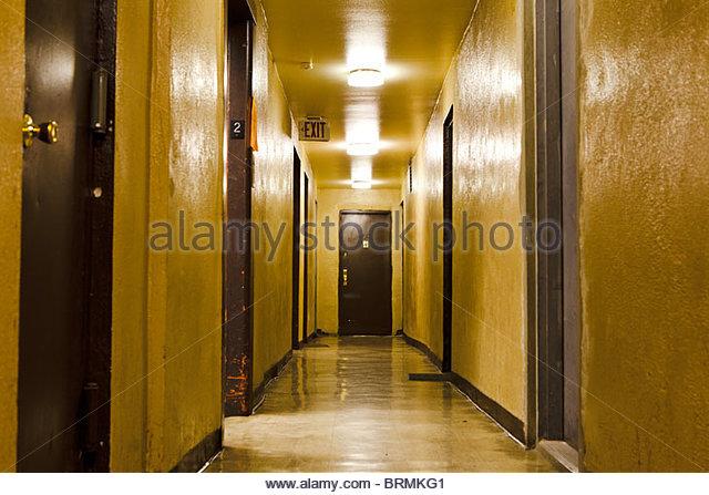 Apartment Building Hallway apartment building hallway stock photos & apartment building