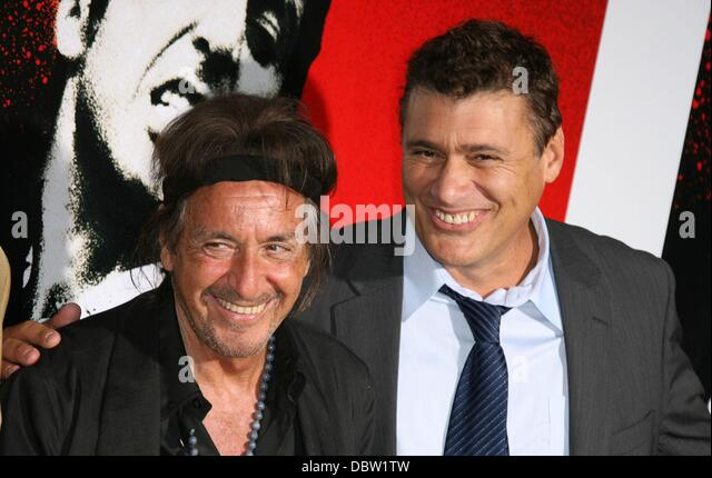 "Al Pacino And Steven Bauer Al Pacino And ""scarface"" Cast ..."