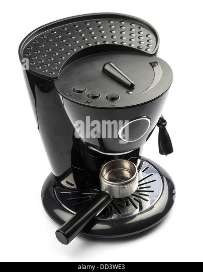 White Electric Coffee Maker : Electric Machines Stock Photos & Electric Machines Stock Images - Alamy