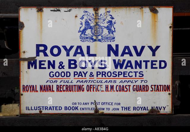 Royal navy recruitment advert stock photos royal navy recruitment advert stock images alamy - Royal marines recruitment office ...