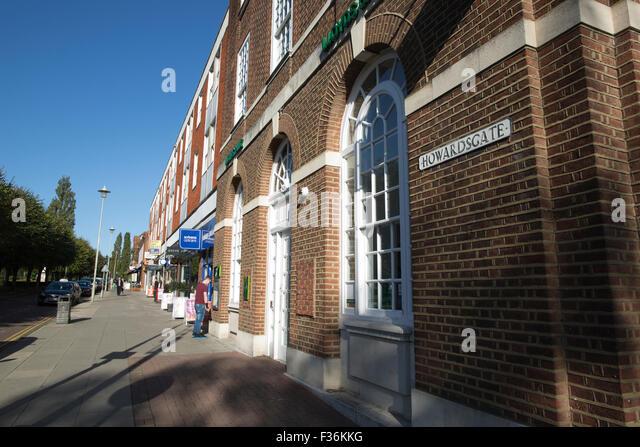 Welwyn garden city town centre stock photos welwyn - Welwyn garden city united kingdom ...