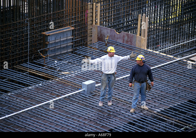 iron workers tunnel construction site bostons big dig project stock image rebar worker