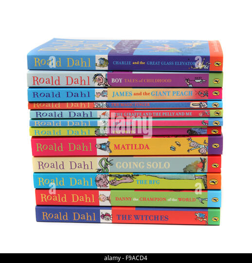 Roald Dahl Books Cut Out Stock Images & Pictures - Alamy