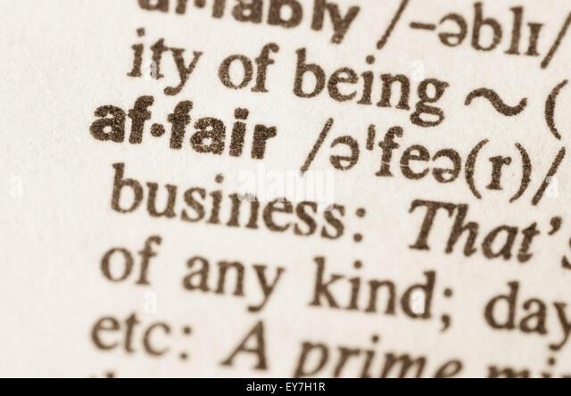 definition for affair