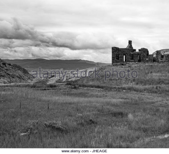 Abandoned Mine Wales Stock Photos & Abandoned Mine Wales