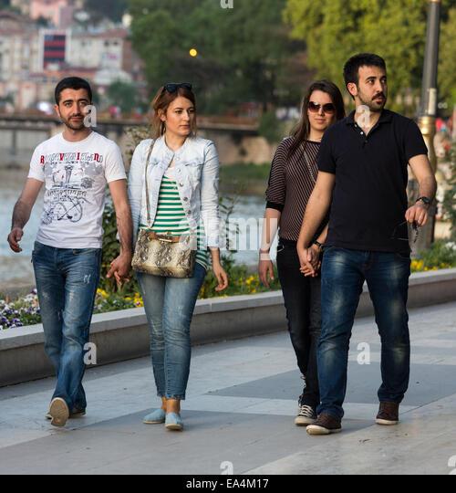 turkish girl strolling in riverside stock photos & turkish girl, Wohnideen design