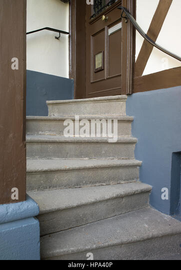 Front Door Step stone steps leading front door stock photos & stone steps leading