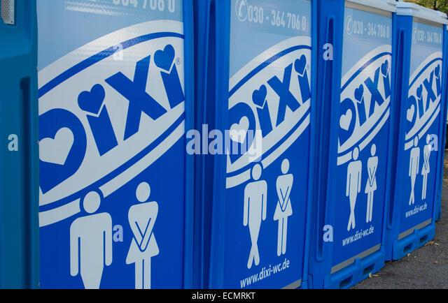 Bathroom Signs In Germany portable bathroom stock photos & portable bathroom stock images