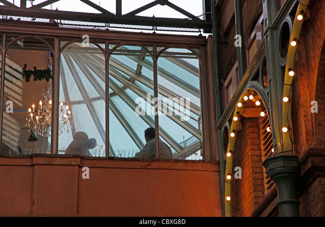 People Dining At A Restaurant In Covent Garden London England UK